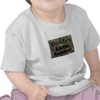 Daddy's Little Soldier Tee Shirt