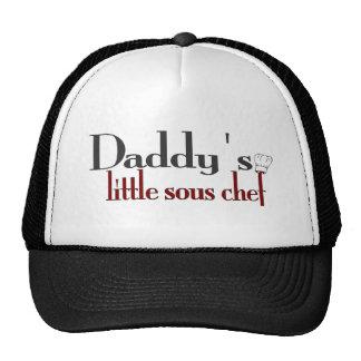 Daddy's little sous chef cap