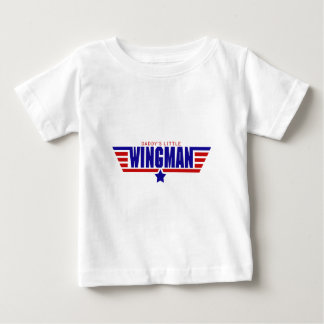 Daddy's Little Wingman Baby T-Shirt