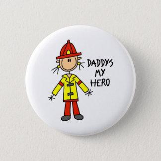 Daddys My Hero Button