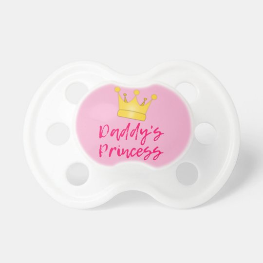 Daddy's Princess Baby Pacifier