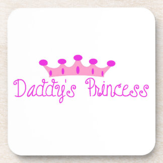 Daddy's Princess Beverage Coasters