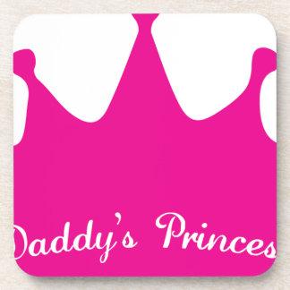 Daddy's Princess Drink Coasters