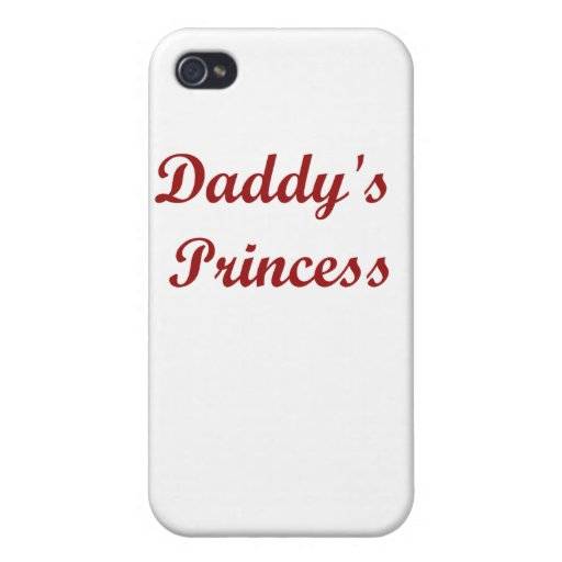 Daddy's Princess iPhone 4/4S Cover