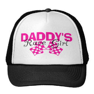 Daddy's Race Girl Hats