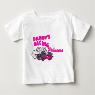 Daddy's Racing Princess Baby T-Shirt