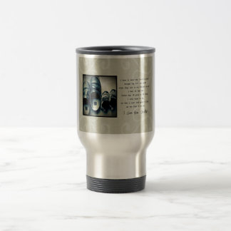 Daddy's Shoes Stainless Steel Travel Mug