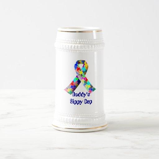 Daddy's Sippy Cup Stein Coffee Mug