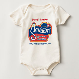 Daddy's Souvenir from the Showboat Drive in Baby Bodysuit
