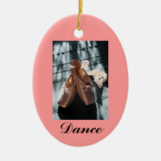 Daddy's special ballerina ceramic oval decoration