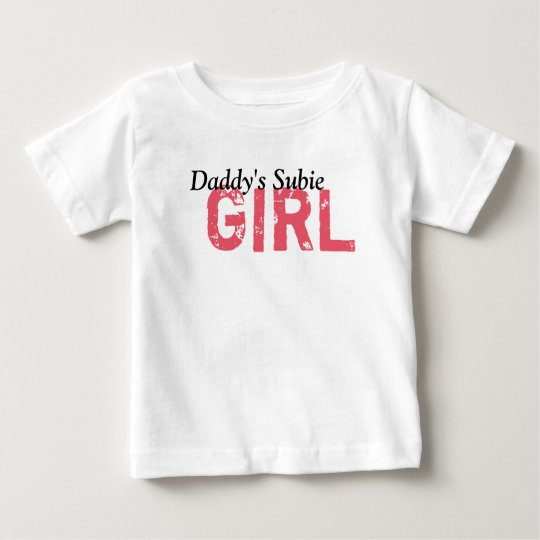 Daddy's Subie Girl Baby T-Shirt