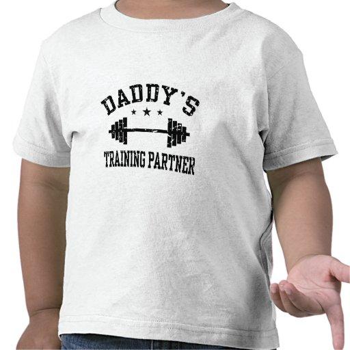 Daddy's Training Partner T-shirts
