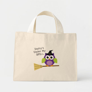 Daddy's Under My Spell Tote Bags