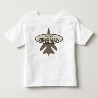 Daddy's Wingman Toddler T-Shirt