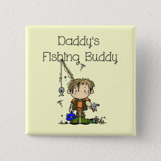 DADFISHINGBUDDY.png 15 Cm Square Badge