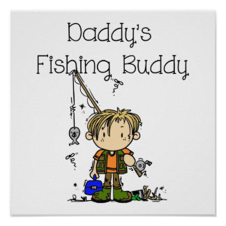 DADFISHINGBUDDY png Poster