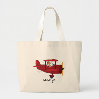 Dadflys Large Tote Bag