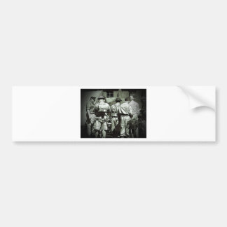 Dads Army on parade Bumper Sticker