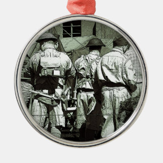 Dads Army on parade Christmas Ornament