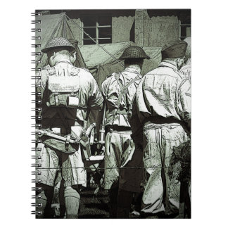 Dads Army on parade Notebooks