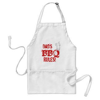 Dad's BBQ Rules! Standard Apron