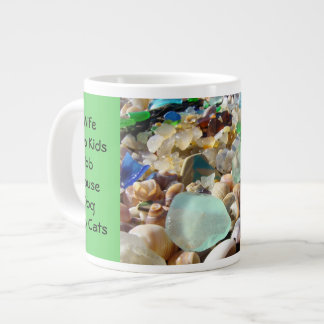 Dad's Big Coffe Mug Wife Kids Job House Dog Cats