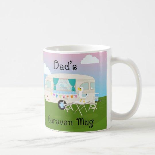 Dad's Caravan, White 11 oz Classic White Mug
