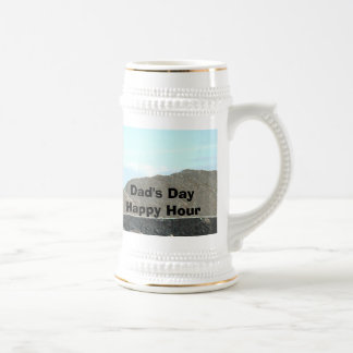 Dads Day Happy Hour Beer Stein by Janz Beer Steins