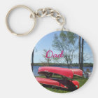 Dad's Father's Day-Canoes Key Ring