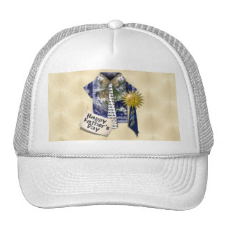Dads Favorite Earth Shirt with #1 Ribbon on Gold Trucker Hats