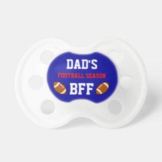 Dad's Football Season BFF Buffalo Baby Pacifier