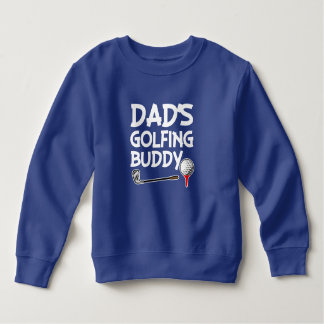 Dad's Golfing Buddy boys sweater