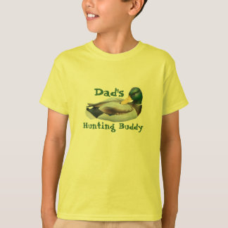 Dad's Hunting Buddy Kids Unisex T-Shirt
