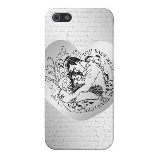 Dad's little girl line drawing text design cover for iPhone 5