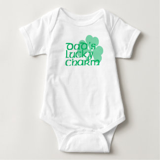 Dad's Lucky Charm Baby Bodysuit
