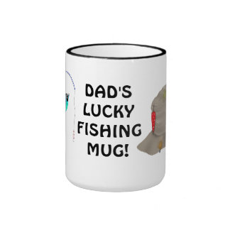 Dad's Lucky Fishing Sports Mug