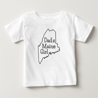 Dad's Maine Girl T Shirts