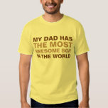 Dad's Most Awesome Son Saying Tshirt