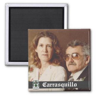 Dad's Parents Carrasquillo Grandparents Magnet
