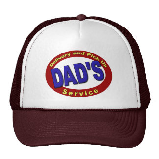 Dad's Pick Up and Delivery Service Mesh Hat