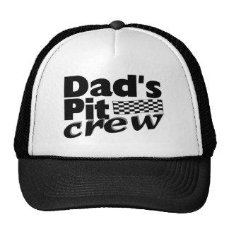 Dad's Pit Crew Cap