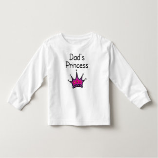 Dad's Princess Toddler T-Shirt
