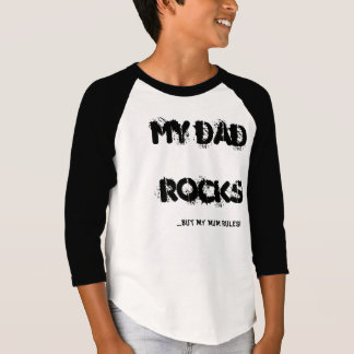 dads rock mums rule t-shirts
