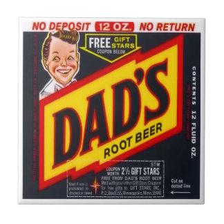 Dad's Root Beer Tile