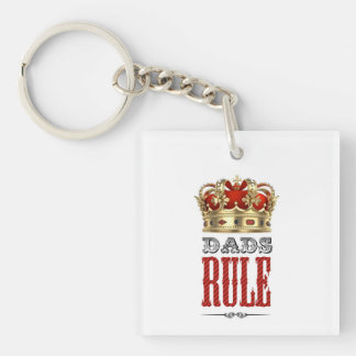 Dads RULE - Father´s Day Acrylic Keychains