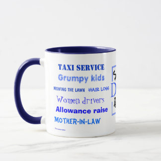 Dads Swear Words! Cuss Words! Mug