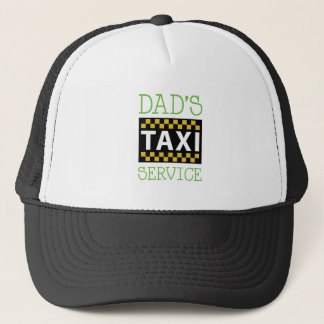 Dads Taxi Trucker Hat