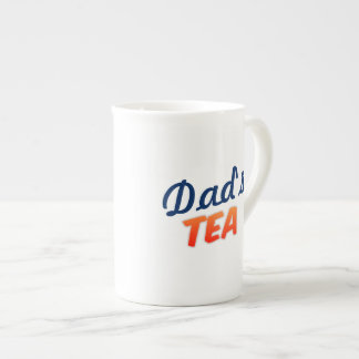 Dad's Tea No Sugar Custom White China Mug