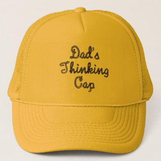 Dads Thinking Cap Hat
