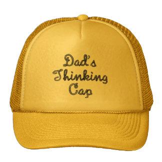 Dads Thinking Cap Hat